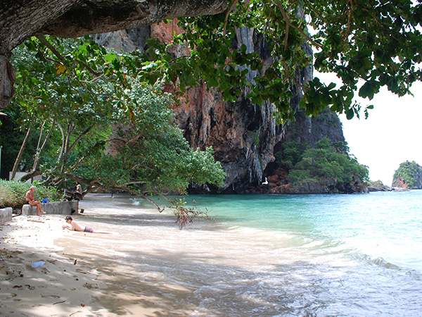 Railay Beach Rock Climbing